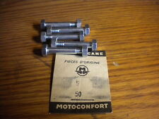 NOS Motoconfort Motobecane Mobylette Moped Bolts and Nuts Qty 5 Part #50