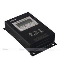 20A MPPT LCD Solar Energy Charge Controller Regulator 15-30% More Power 12V/24V