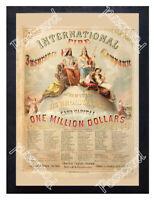 Historic International Fire Insurance Company of New York Advertising Postcard