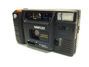 Graflex AF-M 35mm Point and Shoot Film Camera with Original Instruction VGC