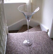 Very Large Ornamental Martini Glass.70cms x 30cms