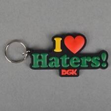 DGK Haters Keyring - Rasta