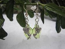 Handmade Silver Plated No Stone Drop/Dangle Costume Earrings