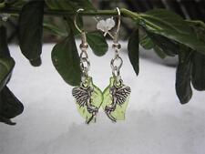 Acrylic Silver Plated Handmade No Stone Costume Earrings