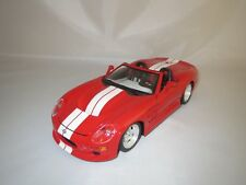 "Bburago  Shelby Series 1  ""1999""  (rot/weiß)  1:18  ohne Verpackung !"