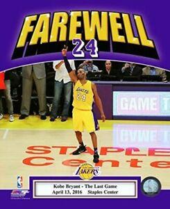 "Kobe Bryant Los Angeles Lakers 2016 Final NBA Game Photo (8"" x 10"")"