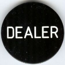 DEALER BUTTON - BLACK