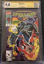 Spider-Man #7 CGC 9.8 SS Signed Stan Lee - Todd McFarlane story, cover & art