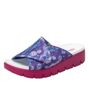 ALEGRIA  AIR-267 AIRIE Comfort Sandals EUR 39 US 8.5/9 SUCH A MONET MULTI