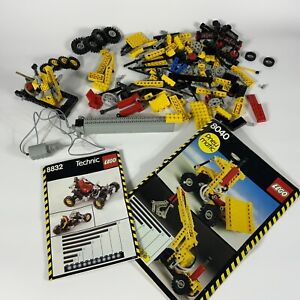 Lego technic Pneumatic 8040 8700 8832 huge lot parts and pieces AS IS Untested