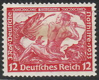 Stamp Germany Mi 504 Sc B54 1933 WWII 3rd Reich Siegfried Richard Wagner MNG
