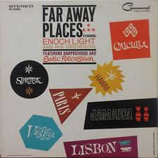 "Enoch Light - Far Away Places 1961 Command 12"" 33 RPM LP (VG+) Jazz"
