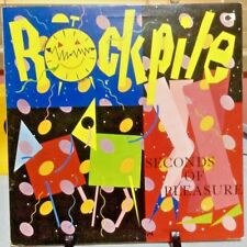 ROCKPILE Seconds Of Pleasure Released 1980 Vinyl/Record  Collection US pressed