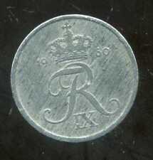 DANEMARK  1 ore 1960  zinc
