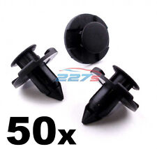 50x NISSAN Passaruota Rivestimento Clip/Motore Bay SHIELDS - 8mm Clip Plastica Trim