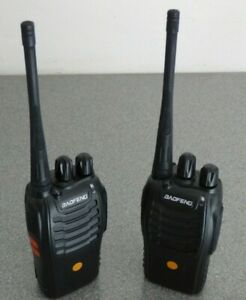 Baofeng Radio Walkie Talkies x 2  (Mitex General frequencies)
