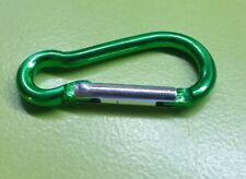 Karabinerhaken Grün 40,5mm Aluminium Schlüsselbund