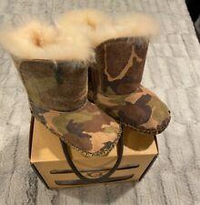 ugg baby boy caden camo boots 2/3-NEW great gift