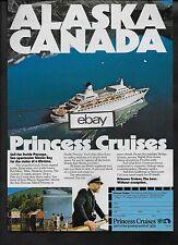 PRINCESS CRUISES TO ALASKA & CANADA INSIDE PASSAGE PACIFIC-SUN-ISLAND AD