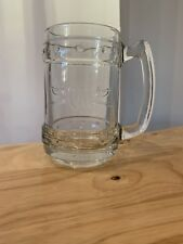 Captain Morgan Spiced Rum Tankard - Heavy Glass. New Without Box.Collectors Item