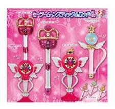 Sailor Moon Stick & Rod ver.4 Gashapon 6set Bandai Japan