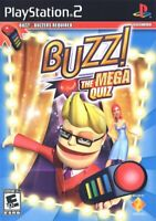 Buzz The Mega Quiz - Playstation 2 Game Complete