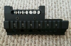 Midwest Industries AK rail with Burris Fastfire mount upper