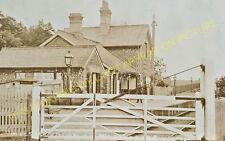 Watton Railway Station Photo. Stow Bedon - Holme Hale. Thetford to Swaffham. (5)