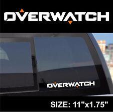 Overwatch logo lettering symbol decal sticker
