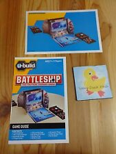U Build Battleship RULES AND BUILDING INSTRUCTIONS Replacement Parts 2010 Milton