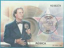 Spanien aus 2000 ** postfrisch Block 86 - Julio Iglesias, Sänger! ESPANA 2000!
