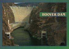 Hoover Dam Arizona & Nevada, Colorado River, Hydro Power Plant, AZ NV - Postcard