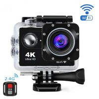4K Wifi Sports Action Camera Cam Waterproof HD DV Video Camcorder Remote 16MP