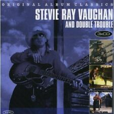 Stevie Ray Vaughan - Original Album Classics (2013) 3CD Box Set  NEW  SPEEDYPOST