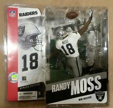 McFarlane Sportspicks Nfl 11 Randy Moss action figure-Raiders-Patriots-N ib