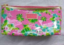 Lilly Pulitzer Estee Lauder Vinyl Cosmetic Makeup Bag