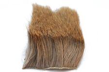2 Pcs/Lot Elk Body Hair Long Thick Fur 6cmX6cm Dry Fly Fishing Tying Materials