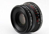【Near Mint】Voigtlander Color Skopar 35mm f/2.5 MC Black Leica L39 From JAPAN