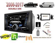 FORD MERCURY BLUETOOTH CD USB AUX Radio Stereo Installation Double Din Dash Kit