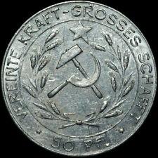 """SPENDENMARKE: 50 Pfennig 1925, Baufonds KPD """"Der Kämpfer"""" Chemnitz. KOMMUNISMUS."""