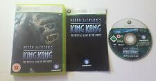 PETER JACKSON'S KING KONG XBOX 360 ONE GAME MOVIE FILM BASED GIFT PRESENT