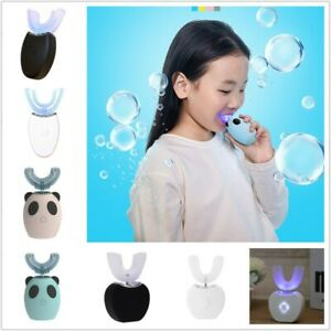 Automatic 360° Electric Toothbrush U-shaped Intelligent Clean Teeth Kid Adult AU