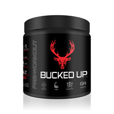 DAS LABS Bucked Up Pre Workout Supplement - BLOOD RAZ (RASPBERRY)