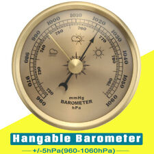 Wall Hanging Barometer Weather Station Air Pressure Gauge70MM 960-1060hPa