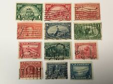 old stamps USA x 12
