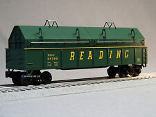 LIONEL READING GONDOLA 2 REMOVABLE COVER O GAUGE train prr freight 6-82436-G NEW