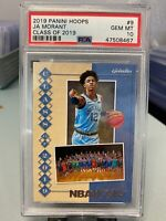 2019 NBA Hoops Class of 2019 - Ja Morant PSA 10 - Rookie - Non-Holo - Grizzlies