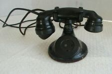 Vintage 1920s Western Electric Dial Table Telephone round base