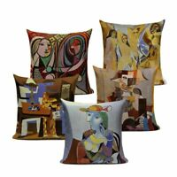 Pablo Picasso Art Decorative Cushion Covers Linen Cotton Sofa Throw Pillow Case