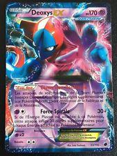 Carte Pokemon DEOXYS 53/116 Holo EX Ultra Rare Noir et Blanc Française NEUF